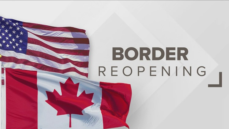 Border to reopen to Canadians in November, impact economy