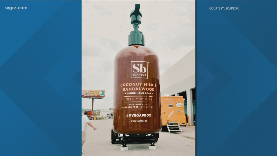 The World's Biggest Bottle Of Soap Coming To Town