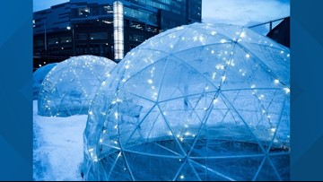Igloos coming to Canalside