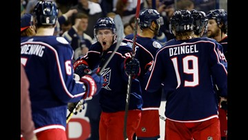 Blue Jackets Win First Ever Series, Sweep Lightning