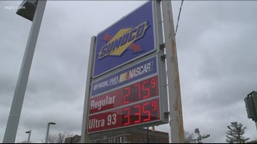 WNY Gas Price Spike: 16 Cents In Two Weeks