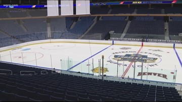 Frozen Four Thursday And Saturday