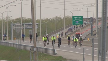 Today's SkyRide will affect several roads in the City of Buffalo