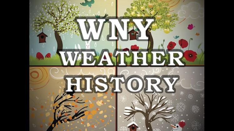 Western New York Weather History