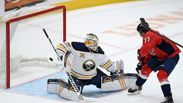 Sabres lose back-to-back games with 6-1 loss to Capitals
