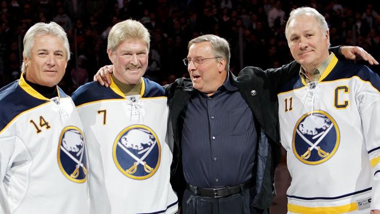 Former Sabres' great Gilbert Perreault remembers teammates Rene Robert and Rick Martin