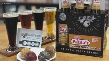 Flying Bison, Paulas Partner For Peanut Beer