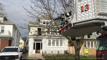 Fire damages home in North Buffalo