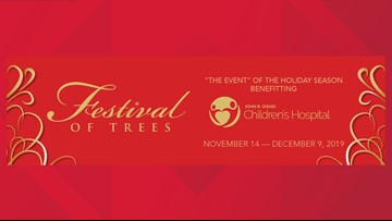 The 42nd Annual Festival of Trees - Nov. 14th - Dec. 9th