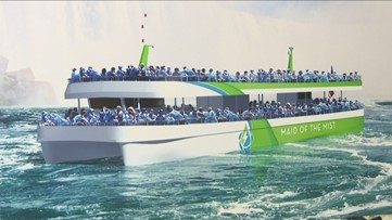 Maid Of The Mist Name New Vessels