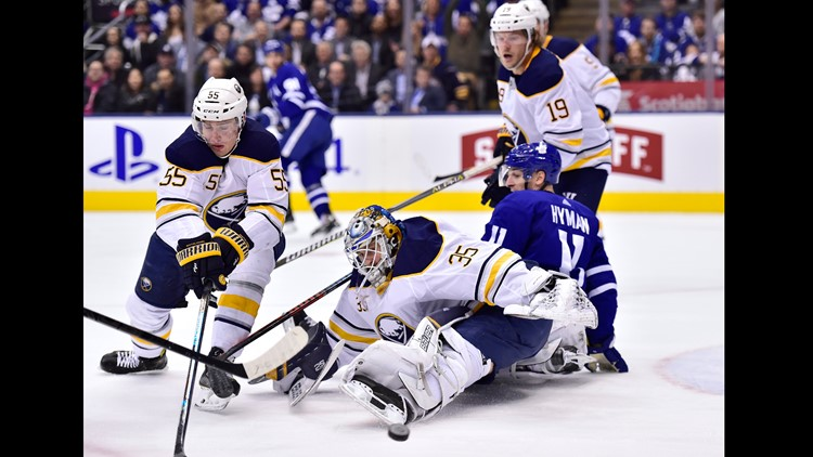 ee9e25816 Sabres Done In By Leafs Four Goal Second Period