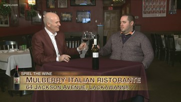 Kevin is at Mulberry Italian Ristorante join by Phil Colarusso for this week's Wine of the Week