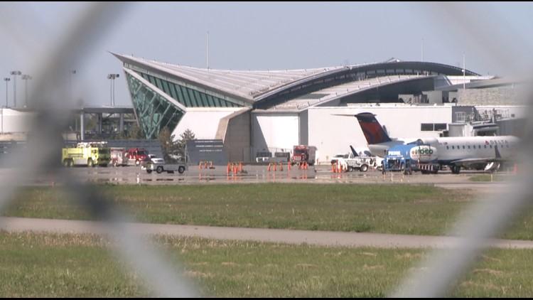 several delays at buffalo airport