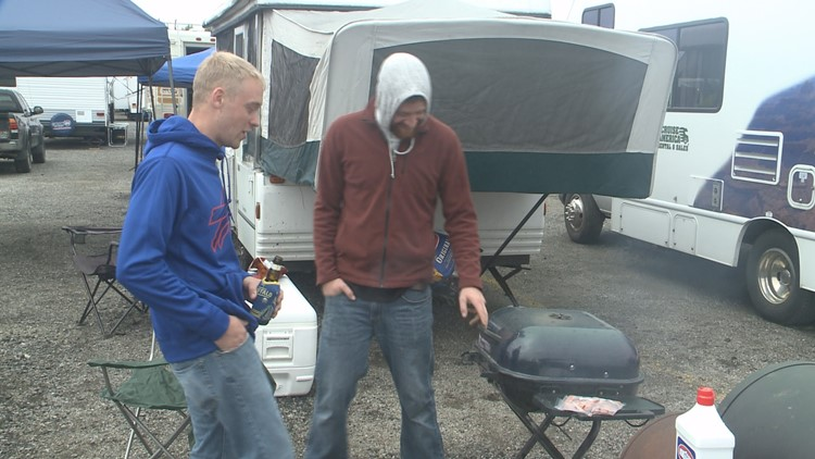 The Bills have announced a partnership with Tailgate Guys, which offers gameday packages like tents, coolers, tables, and more.