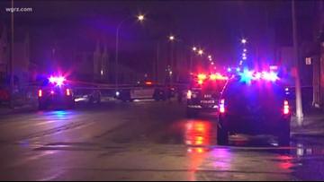 Buffalo Police investigate shooting on Genesee Street