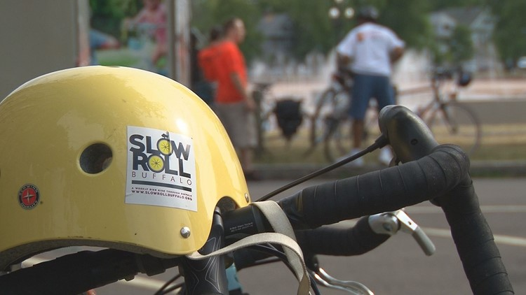 Slow Roll Buffalo will take a tour of the west side of Buffalo tonight.