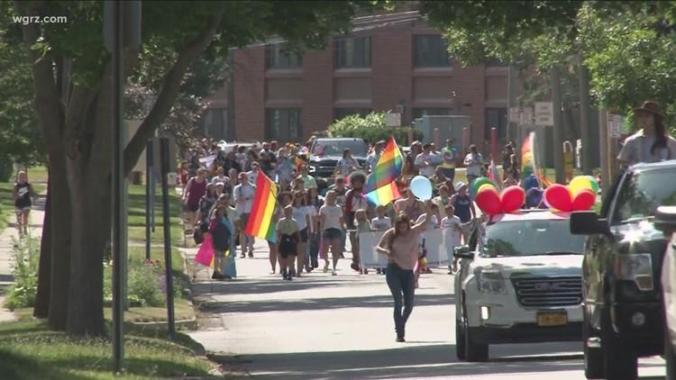 Town of Batavia holds second-ever Pride parade