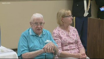 WWII Veteran Honored With Service Medals