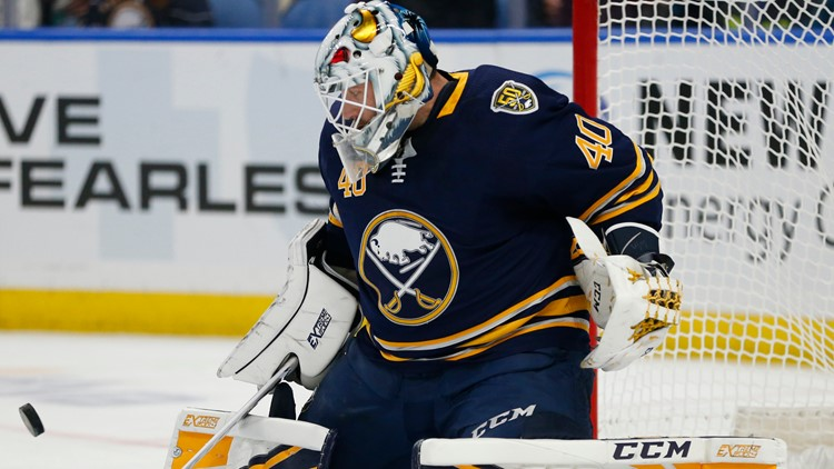 Sabres' Hutton named NHL's Third Star of the Week