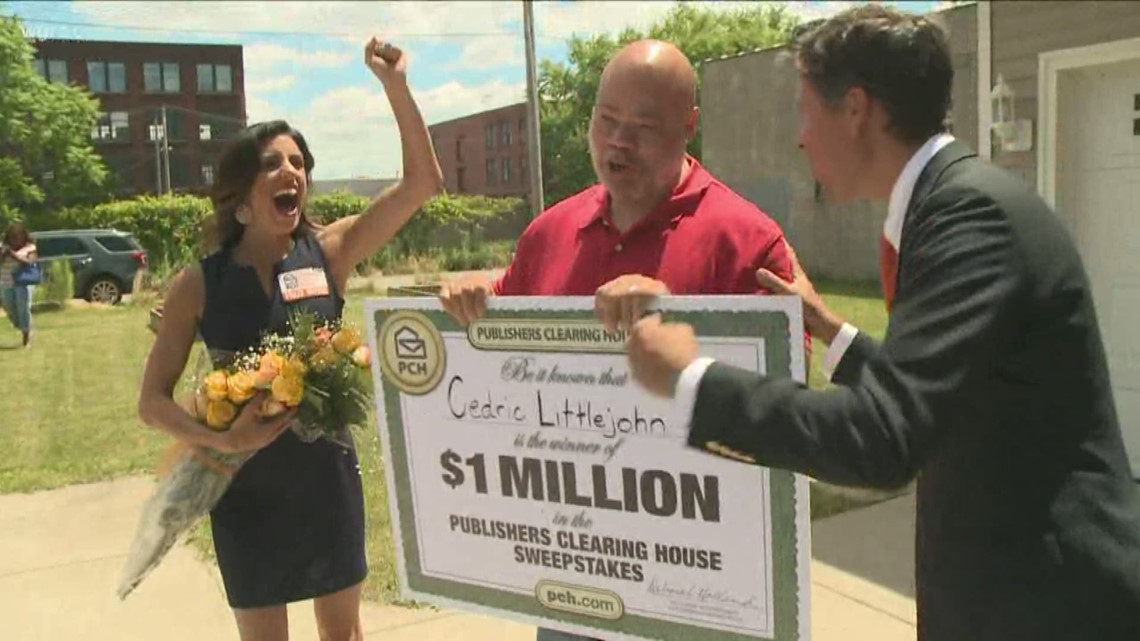 Publishers Clearing House Prize Patrol came to Buffalo