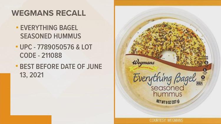 Everything Bagel Seasoned Hummus