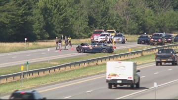 Six people injured in I-90 accident involving NYSP trooper