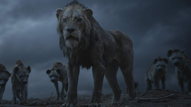 Chiwetel Ejiofor in The Lion King (2019)
