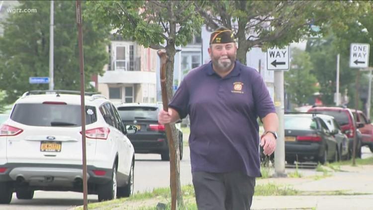 Walking Cross-Country For Veterans