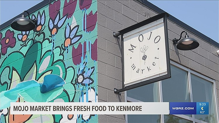 Mojo Market set for grand opening and unveiling of the first public mural in Kenmore