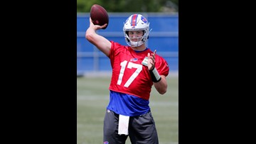 Bills Allen wants a strong finish to minicamp and to make certain he and his teammates remain on the same page