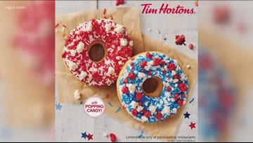 Tim Hortons To Debut Firework Donut