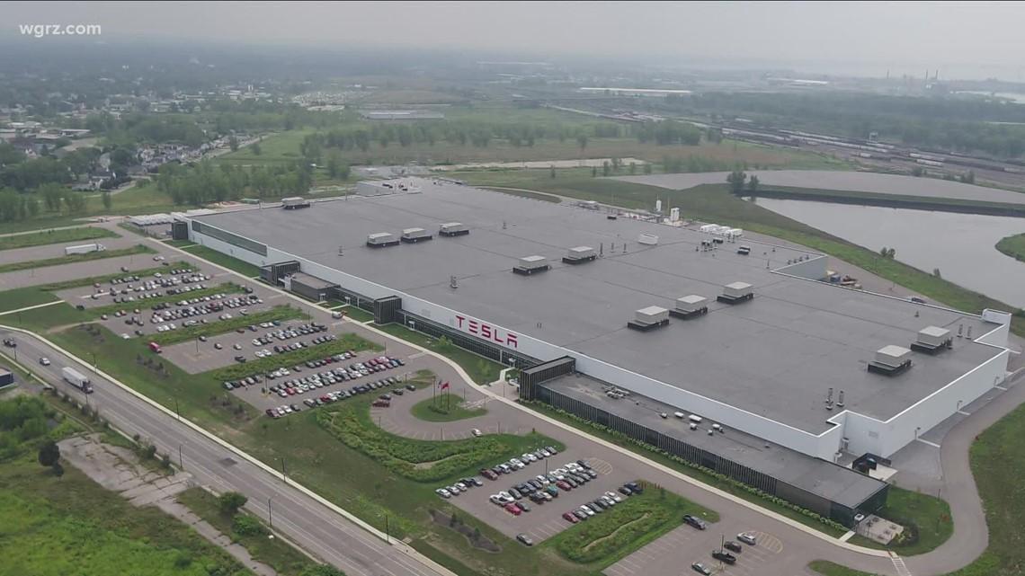Salvage operation at Buffalo Tesla Factory