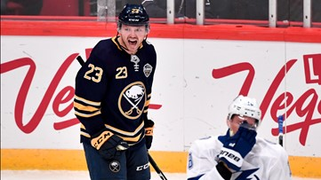 Sabres' losing streak climbs to 5 after 2-game series in Sweden