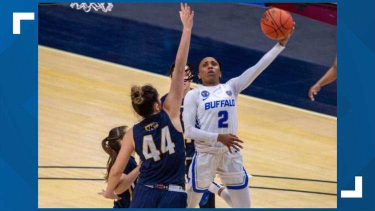 UB women top Kent State to advance in MAC tournament play