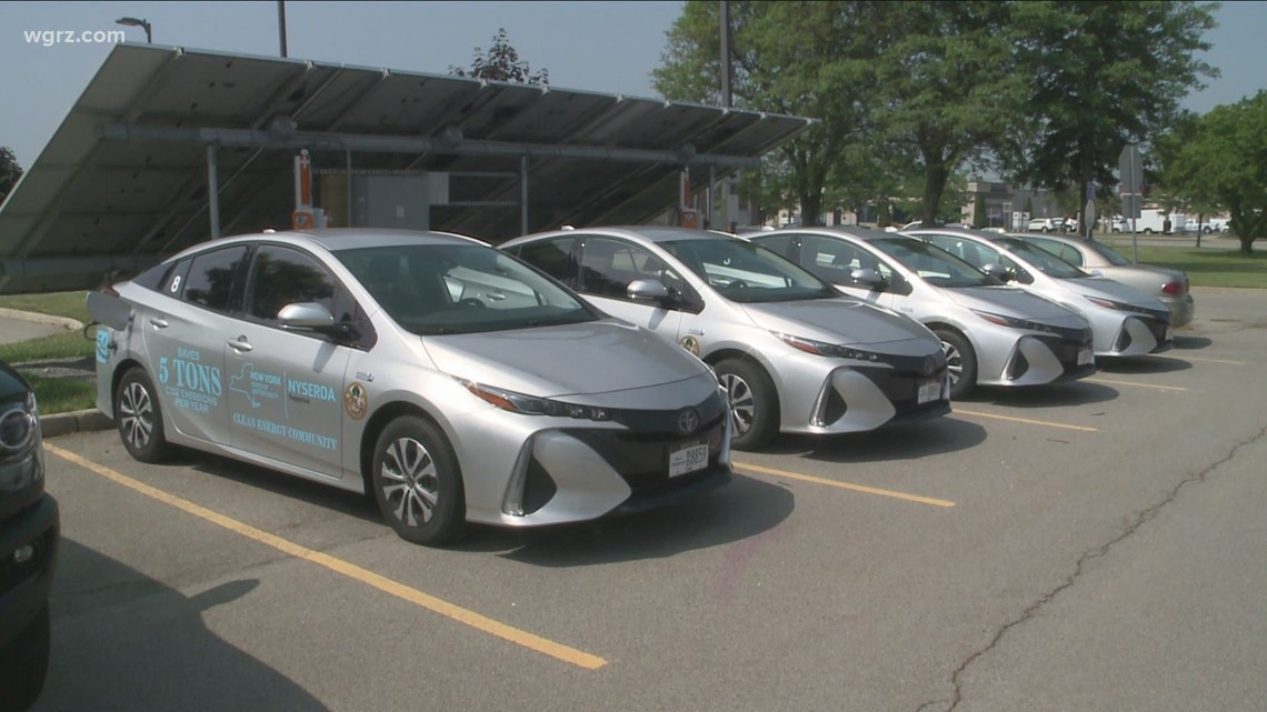 Town of Cheektowaga-owned fleet of electric cars sits idle