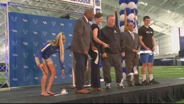 UB celebrates the grand opening of the Murchie Family Fieldhouse
