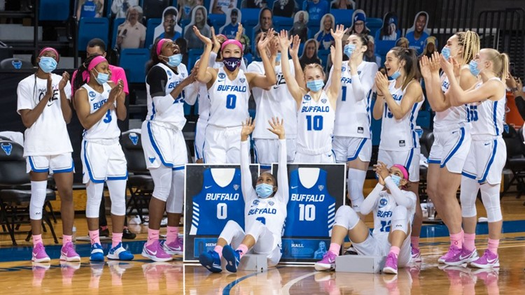 NCAA WBB: UB tops Miami on senior day