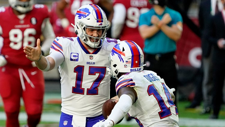 Josh Allen Stefon Diggs Continue To Lead League In Passing Receiving Yards Wgrz Com