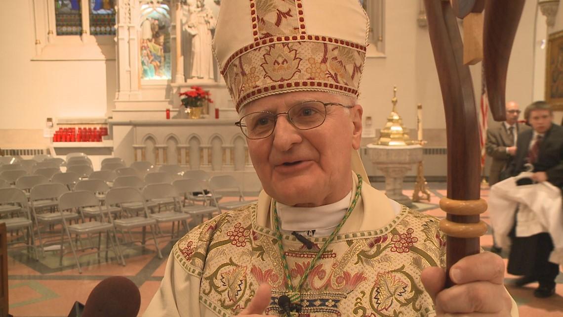 Auxillary Bishop Edward Grosz asks to retire