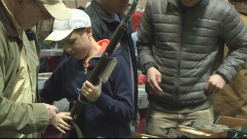 Weekend gun raffle will also serve as rally