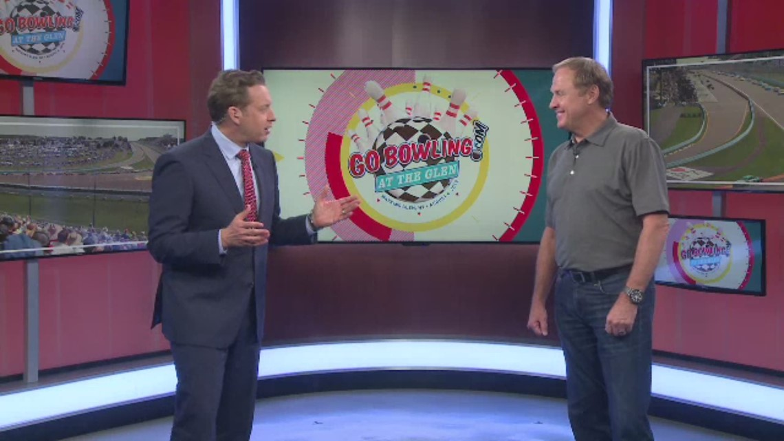 NASCAR Hall of Famer Rusty Wallace stops by the WGRZ-TV studio to talk Watkins Glen