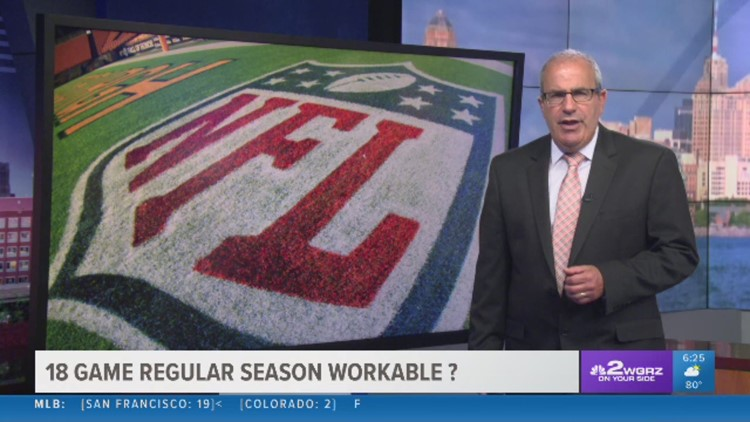 Stu Boyar shares some thoughts on NFL owners wanting to have an 18 game regular season.