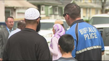 Buffalo police discuss concerns with the public