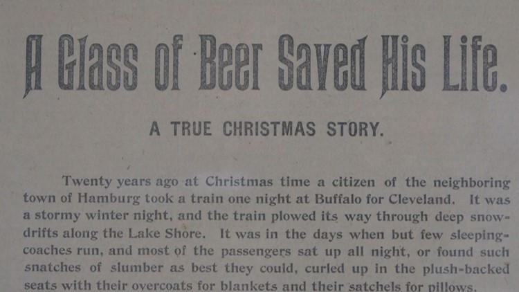 Unknown Stories of WNY: The beer that saved a life