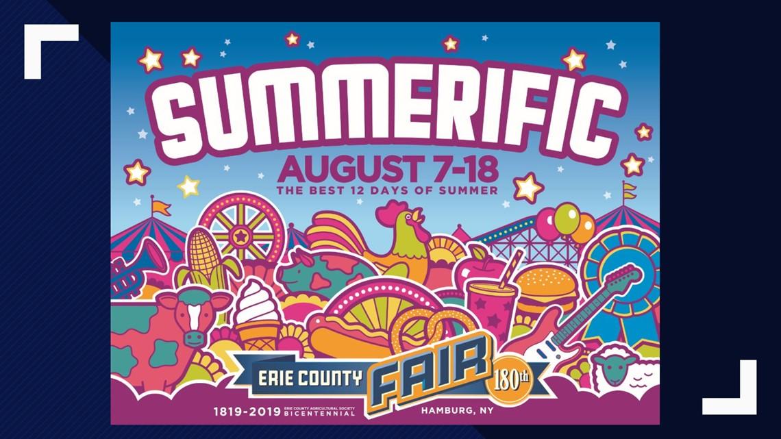 180th erie county fair will be  u0026 39 summerific u0026 39