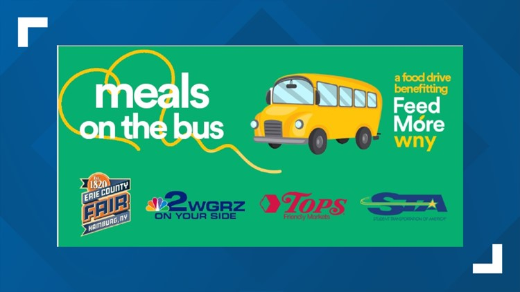 Meals on the Bus food drive - Saturday, July 24th