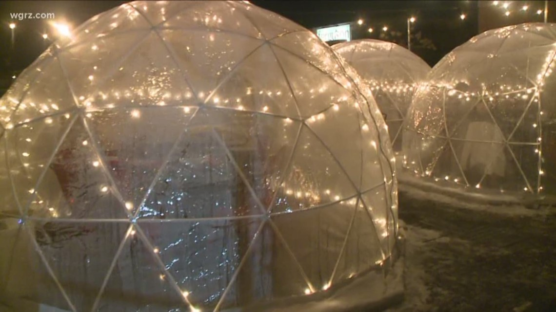 tappo unveils new igloo dining