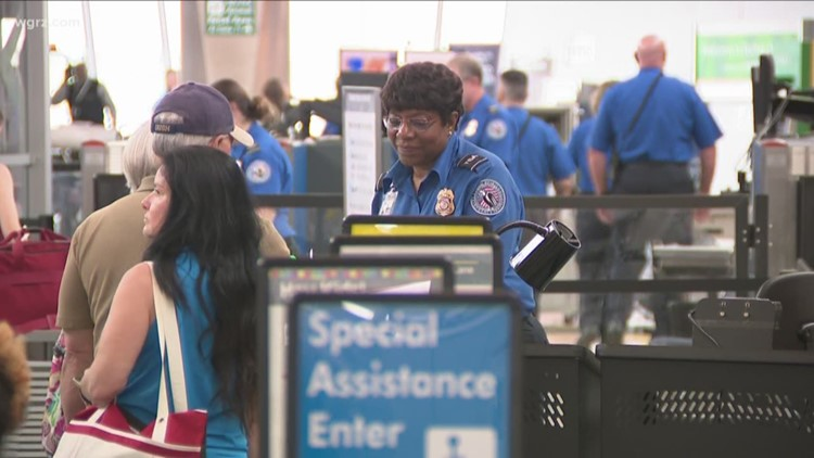 TSA Fully Staffed For Airport's Busy Season