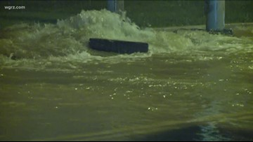 Large water main break Thursday morning in Cheektowaga