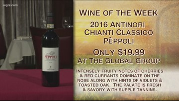 Kevin's Wine of the Week is the 2016 Antinori Chianti Classico Peppoli